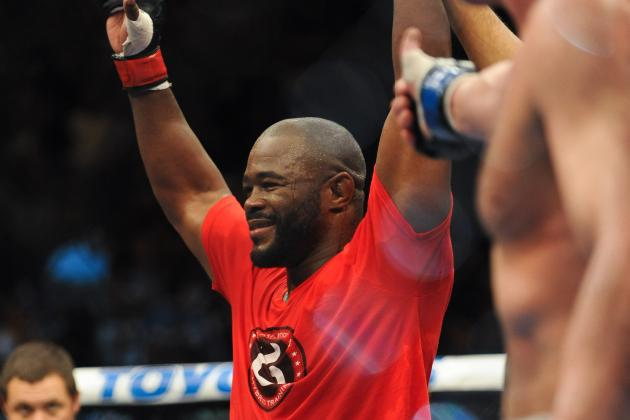 Rashad Evans vs. Daniel Cormier Officially Booked as Main Event for UFC 170