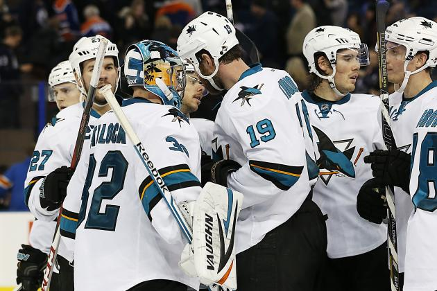 Sharks Fall to Hurricanes 5-3