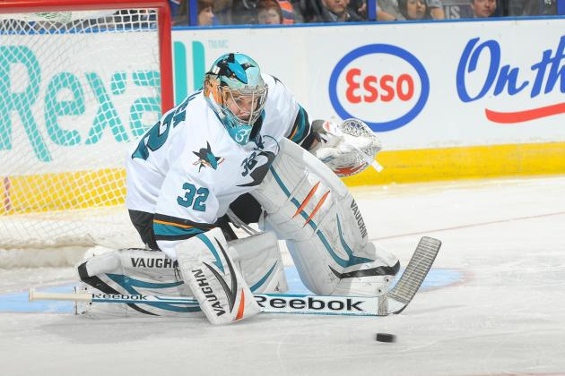 Sharks' Stalock Starting, Brown Hurting