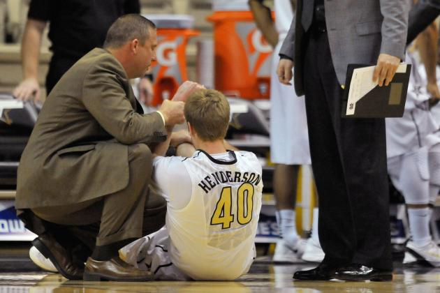 Vanderbilt Men's Center Josh Henderson out for Season