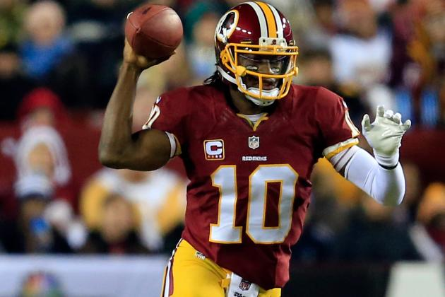 Why Robert Griffin III Is a Must-Start Fantasy Quarterback in Week 14