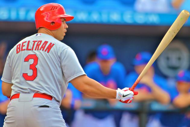 Carlos Beltran Signs 3-Year Deal with New York Yankees