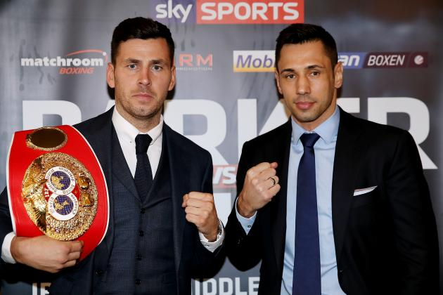 Darren Barker vs. Felix Sturm: Fight Time, Date, TV Info and More