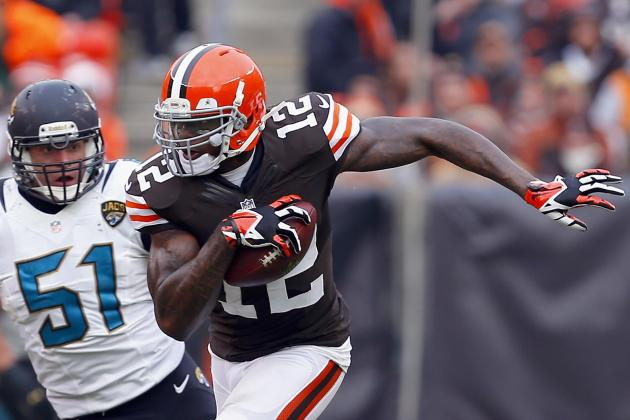 Browns WR Gordon Excels No Matter Who's at QB
