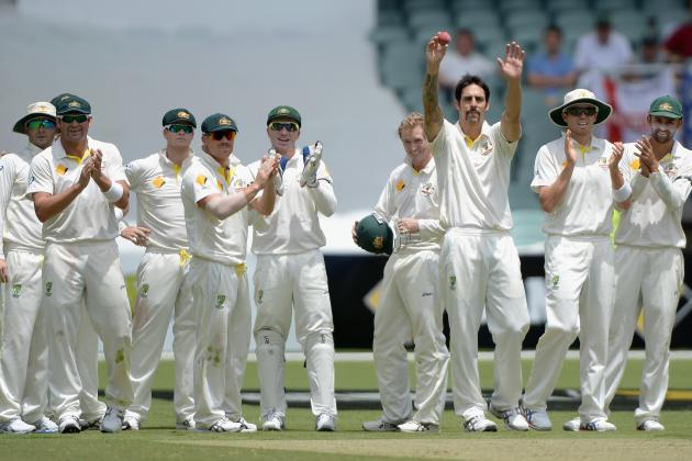 Australia vs. England Ashes 2013: Day 3 Scorecard and Recap from Adelaide