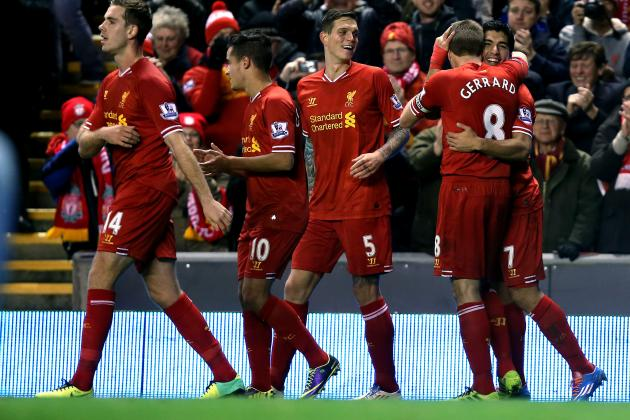 Liverpool vs. West Ham United: Live Ratings for the Reds