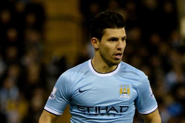 GIF: Sergio Aguero Goal Puts Manchester City 1-0 Ahead at Southampton