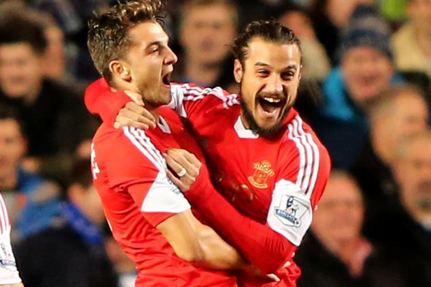 GIF: Pablo Osvaldo Scores Stunning Equaliser for Southampton vs. Man City
