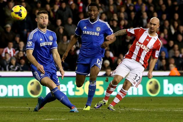GIF: Stephen Ireland Scores for Stoke City Against Chelsea