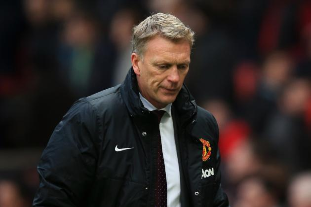 Under-Fire David Moyes Is Being Let Down by His Players at Manchester United