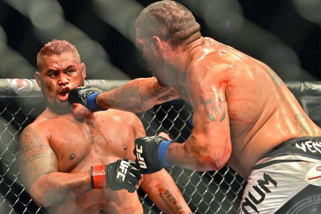 UFC Fight Night 33 Results: Mark Hunt and Antonio Silva in an Instant Classic