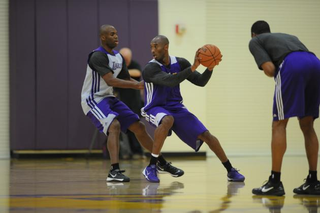 Dominant Kobe Bryant Ready to Join LA Lakers' Chemistry and Commit to Passing