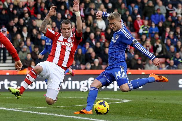 Calf Injury Forces Schurrle off vs. Stoke