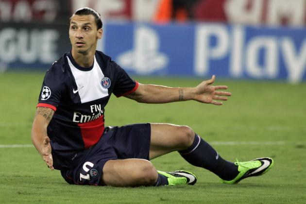 GIF: Zlatan Ibrahimovic's Scorpion Kick Fail for PSG