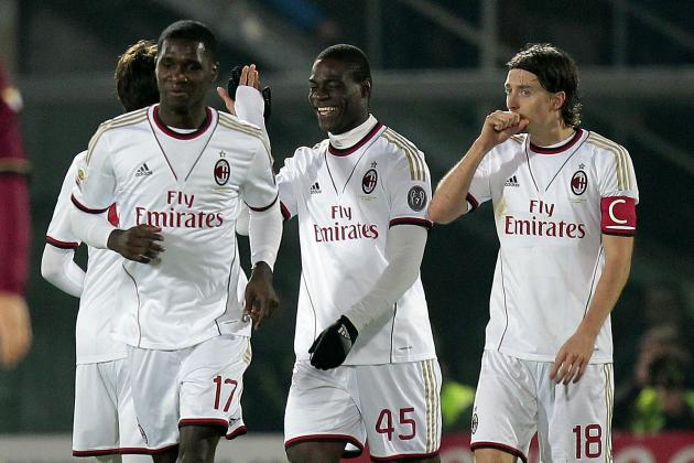 GIF: Kaka's Assist for Mario Balotelli's Goal Is Pinpoint for Milan