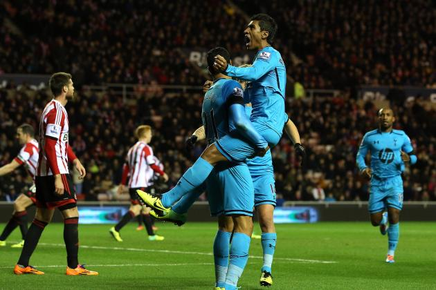 GIF: Tottenham Hit Back to Go 2-1 Up Away at Sunderland