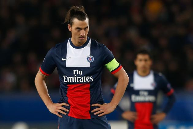 GIF: Zlatan Ibrahimovic Scores Rocket Goal from Free Kick for PSG