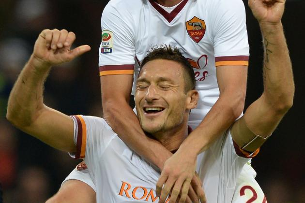 Totti Included in Roma Squad for Match Against Fiorentina