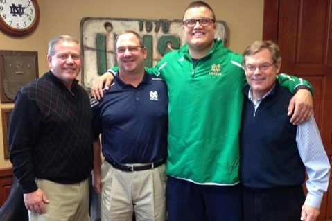 Tristen Hoge Commits to Notre Dame: Irish Land No. 1 2015 Center