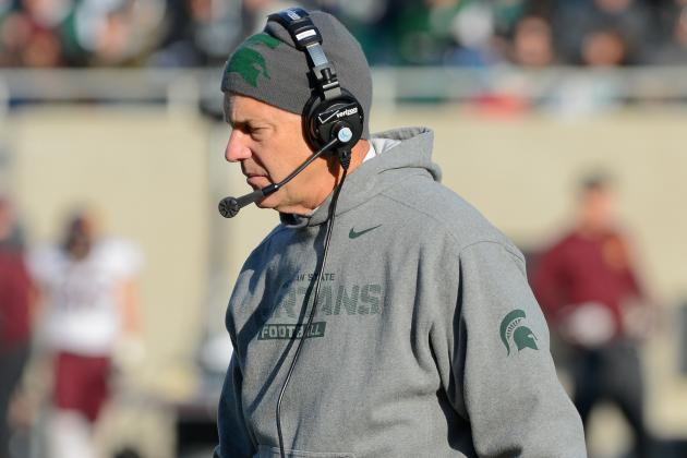 Michigan State's Mark Dantonio and His Staff to Get Pay Raises