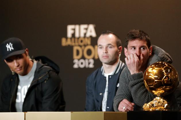 Cristiano Ronaldo Is in Driver's Seat for 2013 Ballon d'Or
