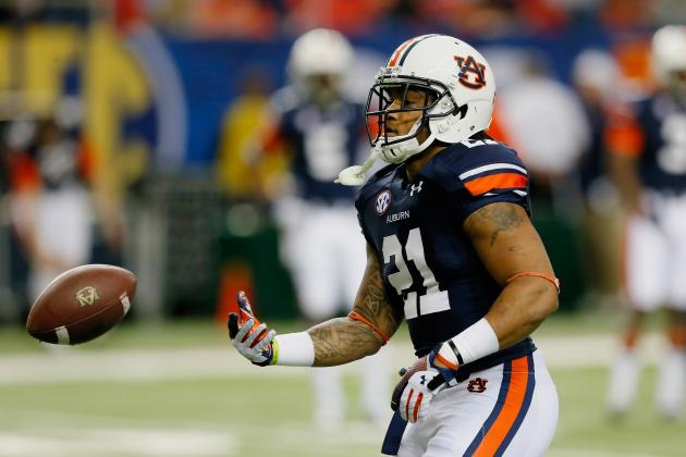 Tre Mason Breaks SEC Championship Game Rushing Record vs. Missouri