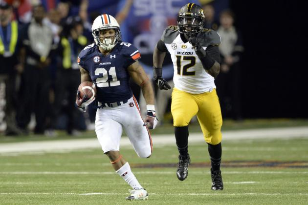 SEC Championship 2013: Live Game Grades and Analysis for Auburn Tigers