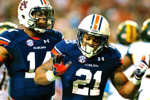 SEC Championship 2013: Live Score and Highlights for Auburn vs. Missouri