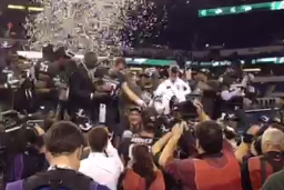 Watch Spartans Celebrate B1G Title in Locker Room