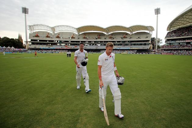 Australia vs. England Ashes 2013: Day 4 Scorecard and Recap from Adelaide