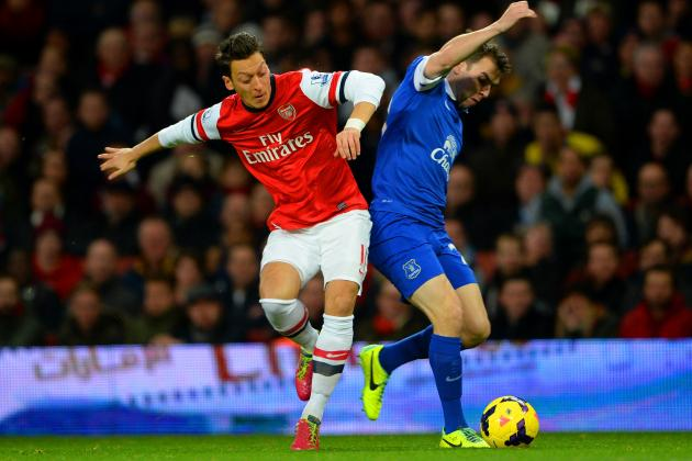 Arsenal vs. Everton Score, Grades and Post-Match Reaction