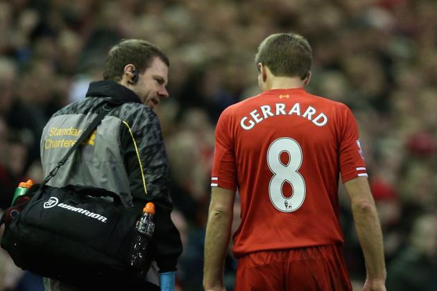 Steven Gerrard Injury: Updates on Liverpool Star's Leg and Return