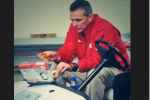 Sad Urban Meyer Eats Papa John's After Loss