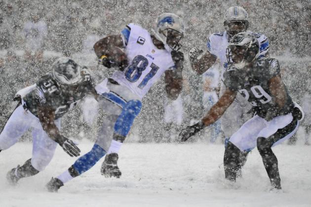 Detroit Lions vs. Philadelphia Eagles: Live Grades and Analysis for Detroit