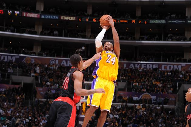 Kobe Bryant's Return: Live Highlights and Reaction for Lakers vs. Raptors