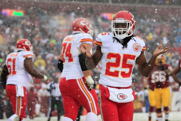 Jamaal Charles' Instant Fantasy Reaction for 2013 Fantasy Playoffs