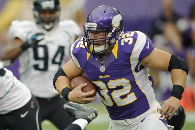 Toby Gerhart's Full Fantasy Scouting Report Following Adrian Peterson's Injury
