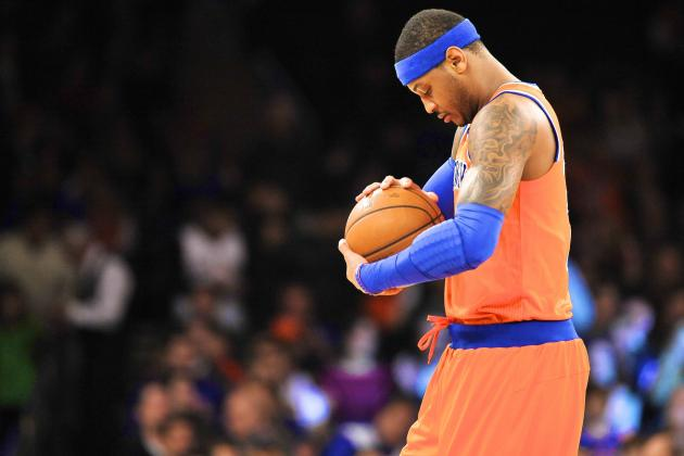 Carmelo Anthony on 41-Point Loss to Celtics: 'A Good Old-Fashioned Ass Whupping'
