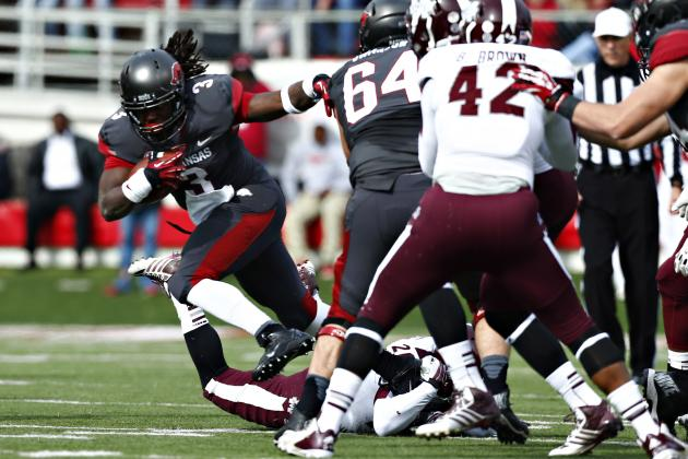 Arkansas Football: Alex Collins Is the Next Big Thing for Razorbacks