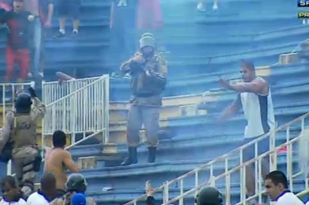 Atletico PR vs. Vasco Delayed After Riot Breaks Out in Stands