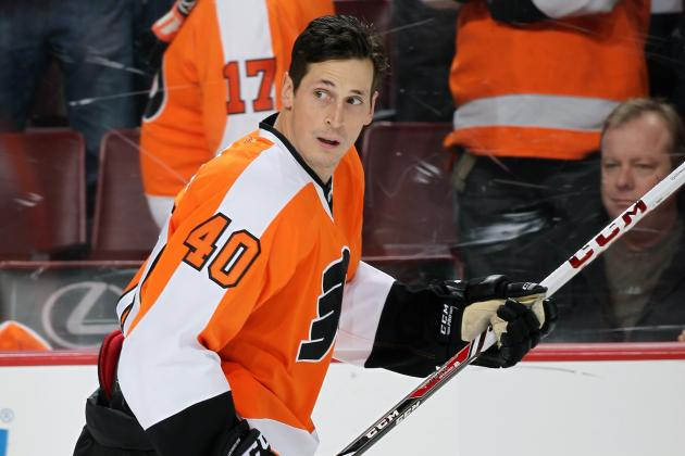 Vincent Lecavalier Injury: Updates on Flyers Star's Back and Return