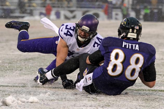 Dennis Pitta Is Key to Resurgence of Baltimore Ravens' Passing Attack