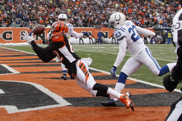 Dalton's 4 TDs Lead Bengals in Rout of Colts