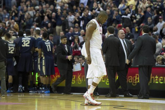 George Washington Edges Maryland 77-75