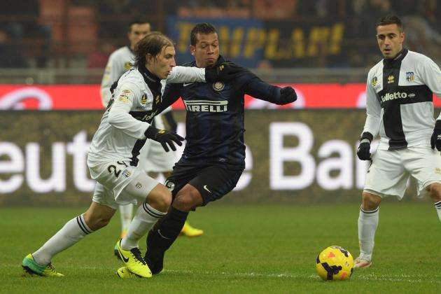 Inter Milan vs. Parma End 3-3 in San Siro Thriller