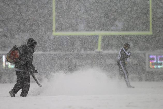 History Made as No Kicker Scores in Snowy Lions-Eagles Game
