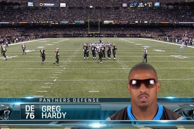 Panthers' Greg Hardy Claims to Have Attended Hogwarts