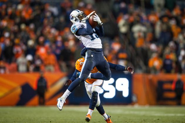 Justin Hunter Proving He's the No. 1 Receiver the Tennessee Titans Need