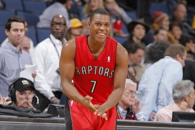 Wrong Toronto Raptor Shoots Free Throws Against LA Lakers