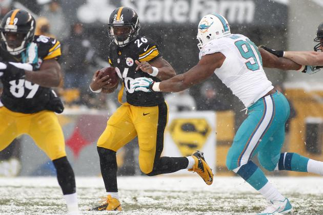 Steelers' NFL Playoff Hopes Are All but Gone in Loss to Dolphins